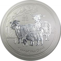 Buy 2015 Australia 10 Kilo Silver Lunar Goat BU coins at texasbullion.com. If you have questions or would like to speak with a sales associate please contact us at (855) 927-5557 today!