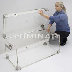 Acrylic Trunk Coffee Table