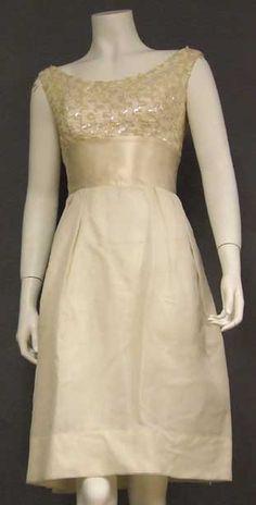 Vintageous, LLC - Pretty Ivory Chiffon, Lace