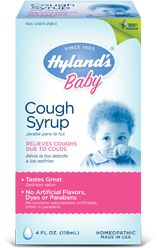 Hyland's Baby Cough Syrup - this stuff is amazing, it's really the only cough syrup that you can use with a baby (over 6 months). it has helped a little with croup cough too.