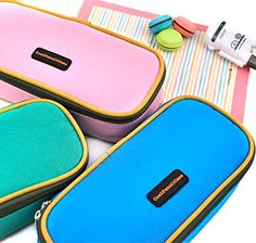 Cool Pencil Case - Color Love Pencil Case- (Bright Sky Blue)
