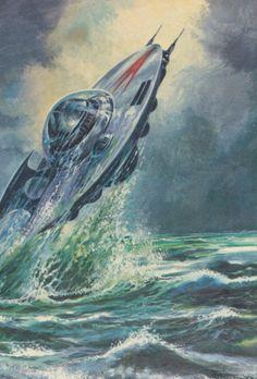 Unidentified Sea Object - concept art@...