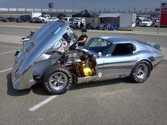 Daytona Coupe fully polished all aluminum body.