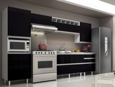 Cabinet Simply Modern Kitchen Black Contemporary Silver Refegerator Storage Stove Sensational Cabinets for