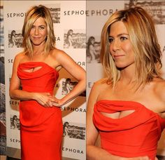 Jennifer Aniston's hair and dress...perfection!