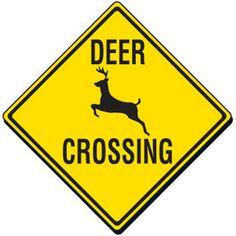 Donna, Radio Caller, Wants Deer Crossing Signs Moved So Deer Won't Cross Highways
