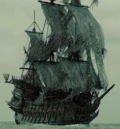 Stories of ghosts and paranormal activities at sea interests us all. The mystery of the Flying Dutchman ship is one such story that scares even the one with the strongest heart. Know the mystery of the Ghost ship Flying Dutchman inside the article. Pirate Art, Pirate Life, Pirate Ships, Pirate Crafts, Pirate Skull, Karten Tattoos, Golden Age Of Piracy, Bateau Pirate, Old Sailing Ships