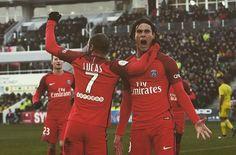 But Nantes PSG, résumé Nantes PSG, vidéo Nantes PSG, but FC Nantes Paris SG, but Cavani, PSG, Nantes, coup-franc cavani