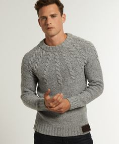 Superdry Propeller Knit - Men's Jumpers