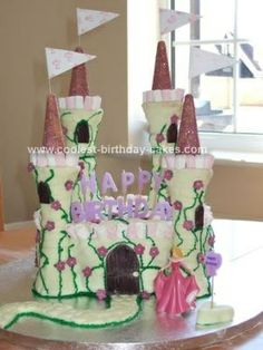 Purple and pink Princess Birthday Ideas Pinterest Pink