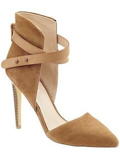 Joe's 'Laney' Pump - love the suede and ankle strap!