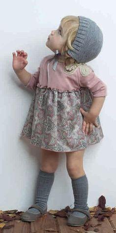Conjunto de Pilar Batanero modaparalospeques.com. Blog de moda infantil