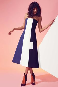 Novis Fall 2016 Ready-to-Wear Collection Photos - Vogue Runway Fashion, Fashion Show, Fashion Outfits, Fashion Design, Women's Fashion, Colour Blocking Fashion, Edgy Dress, High End Fashion, Colorblock Dress