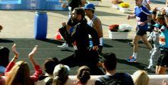 31st Athens Marathon,  last meters.......PAPATHANASIS
