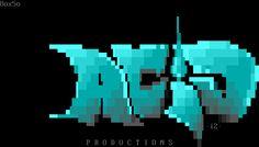 ACiD Ansi logo bbs art