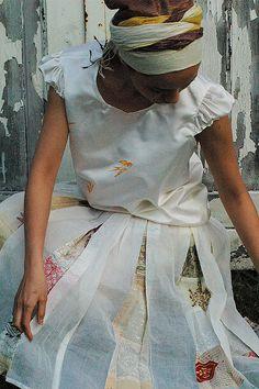 Barbara Munsel |  peekaboo pleats