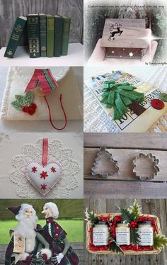 Team Vintage USA Christmas  by Julie Hickman on Etsy--Pinned with TreasuryPin.com