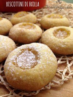 #Biscottini di #frolla e #marmellata - Molliche di zucchero