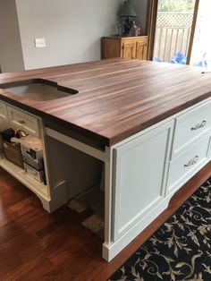 This Was A 78 Black Walnut Top You Can Customize One Too Butcher Block Countertops