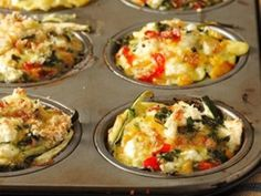 Fritatta tartlets for three occasions