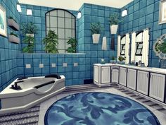 Second Life is a restored furniture factory for the needs of housing. New owner likes white and black with blue accents)). In the middle you will find: two bathrooms, four bedrooms, lounge, spa,. Lotes The Sims 4, Sims Four, Sims Cc, Sims 4 House Plans, Sims 4 House Building, House Flippers, Sims 4 House Design, Casas The Sims 4, Play Sims