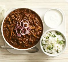 If you're a fan of chilli con carne, you'll love this dark, sweet and spicy South American stew with ancho, ground nuts and chocolate