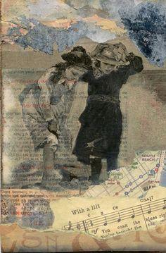 Collage Artist Laura Tringali Holmes of http://lauratringaliholmes.deviantart.com/