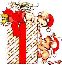 Muisjes bij Cadeautje