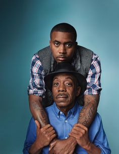 Fatherly Love - rapper Nas & his father, blues musician Olu Dara. Holiday 2012.