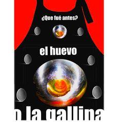 Diseño para delantal.  Por Rosa Prat Yaque.  Desing for apron. Pink, Aprons