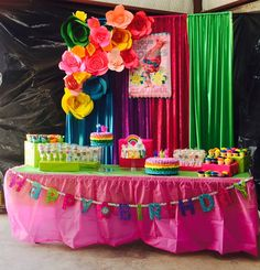 Image result for trolls table decorations ideas