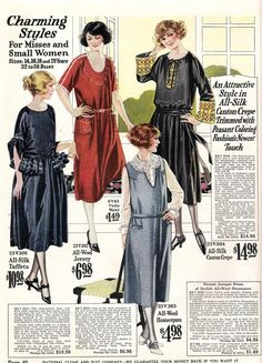 1922 Day Dresses downton abby
