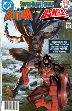Super-Team Family: The Lost Issues!: Batman and U.S.Agent