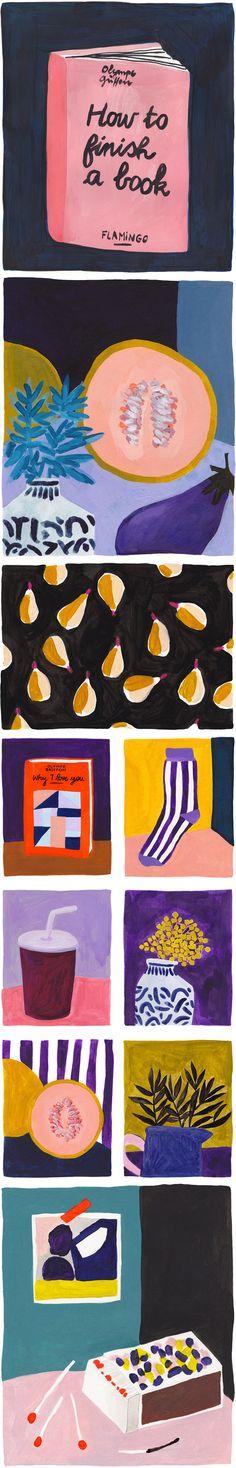 ILLUSTRAZIONE: La frutta di Léa Maupetit - Osso Magazine