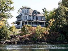 dream home- on its own island in Alexandria bay, ny.