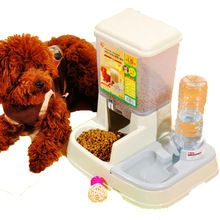 Pet cats and dogs automatic feeding and watering device drinking bowl feeder dog bowl cat food bowl