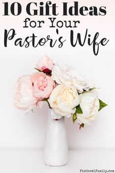 Do you want to buy a gift for your pastor's wife, but aren't sure what to get he… Do you want to buy a gift for your pastor's wife, but aren't sure what to get her? No worries. We've got 10 great gifts that your pastor's wife will love. Gifts For Pastors, Pastors Wife, Gifts For Wife, Prayer Ministry, Youth Ministry, Ministry Leadership, Preachers Wife, Christian Parenting, Christian Homemaking