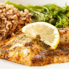 Butter and Herb Baked Cod Fish (Bacalao ). Butter and Herb Cod Recipe from Grandmothers Kitchen. Seafood Dishes, Fish And Seafood, Seafood Recipes, Cooking Recipes, Healthy Recipes, Crockpot Recipes, Flounder Recipes, Grandmothers Kitchen, Salads