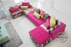 U BEST high quality sectional sofa pink fabric 6 seat sofa compenhagen,Sectional Sofa Set Sofa Reversible Chaise -in Living Room Sofas from Furniture on Aliexpress.com | Alibaba Group