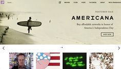 Artsy is the world's largest online art marketplace. Browse over 1 million artworks by iconic and emerging artists, presented by galleries and top auction houses in over 100 countries. America Independence Day, Artwork, Work Of Art