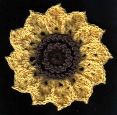 Free Crochet Pattern: Bountiful Petals Dishcloth by Amelia Beebe (champygirl)