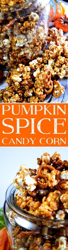 This recipe for Pumpkin Spice Candy Corn almost cost me my at-work friendships, y'all. With everyone trying to keep or improve their figures at the office, bringing in this Pumpkin Spice Candy Corn to share with the ladies, nearly… Pumpkin Recipes, Fall Recipes, Snack Recipes, Dessert Recipes, Cooking Recipes, Pumpkin Spice, Sugar Pumpkin, Pumpkin Pumpkin, Delicious Desserts