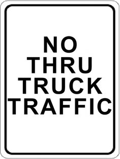 Do Not Block Intersection Sign