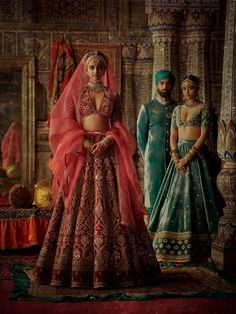Check all sabyasachi beautiful new winter bridal collection here. These winter bridal collection includes devi, chowk, nargis and isfahan etc.