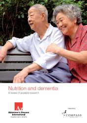 Nutrition and dementia from Alzheimer's Disease International. 2014