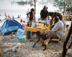 Joan Bardeletti, France, Picturetank; The middle class in Mozambique: Sunday picnic on an African beach.