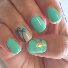 20+ top and trendy summer nail art 2016