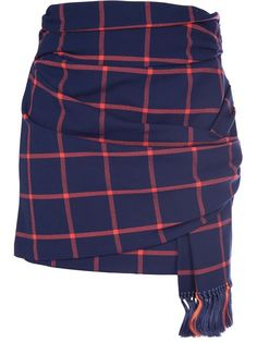 Shop Thakoon Addition tartan wrap skirt in Le Mill from the world's best independent boutiques at farfetch.com. Over 1000 designers from 60 boutiques in one website.