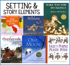 My Favorite Picture Books for Setting and Story Elements! | Thank God It's First Grade (TGIF!) | Bloglovin'