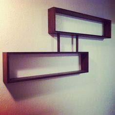 MidCentury Modern Shelf by DeuxViesFurniture on Etsy